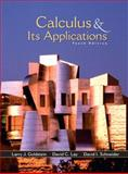 Calculus and Its Applications, Goldstein, Larry Joel and Lay, David C., 0130466107