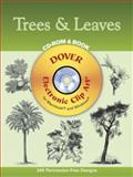 Trees and Leaves, Dover Staff, 0486996115
