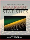 Encyclopedia of Measurement and Statistics, Salkind, Neil J., 1412916119