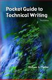 A Pocket Guide to Technical Writing, Pfeiffer, William S., 0130476110