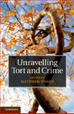 Unravelling Tort and Crime, , 1107066115