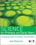 Science for Primary and Early Years, Devereux, Jane, 1412946115