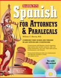 Spanish for Attorneys and Paralegals with Audio CDs, William Harvey, 0764196111