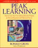 Peak Learning, Ronald Gross, 0874776112
