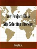 New Project File and Site Selection Checklist, Conway Data, 0910436126
