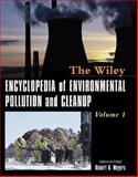 Encyclopedia of Environmental Pollution and Cleanup, Meyers, Robert A., 0471316121