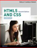HTML5 and CSS : Complete, Shelly, Gary B. and Woods, Denise M., 1133526128