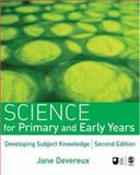 Science for Primary and Early Years, Devereux, Jane, 1412946123