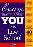 Essays That Will Get You into Law School, Kaufman, Dan, 0764106120