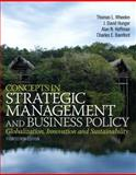 Concepts in Strategic Management and Business Policy, Wheelen, Thomas L. and Hunger, J. David, 0133126129