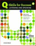Q - Skills for Success : Listening and Speaking 3, Craven, Miles and Sherman, Kristin D., 0194756122