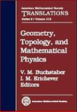 Geometry, Topology, and Mathematical Physics, , 0821836137