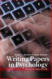 Writing Papers in Psychology, Rosnow, Ralph L. and Rosnow, Mimi, 1111726132