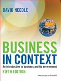 Business in Context, David Needle, 1844806138