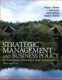 Strategic Management and Business Policy : Globalization, Innovation and Sustainablility, Wheelen, Thomas L. and Hunger, J. David, 0133126145