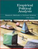 Empirical Political Analysis : Research Methods in Political Science, Manheim, Jarol B. and Rich, Richard C., 0321086147