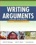 Writing Arguments : A Rhetoric with Readings, Brief Edition, with NEW MyCompLab Student Access Code Card, Ramage, John D. and Bean, John C., 0321846141