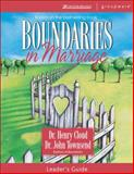 Boundaries in Marriage, Henry Cloud and John Townsend, 0310246148