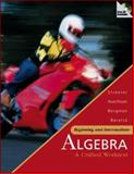 Beginning and Intermediate Algebra : A Unified Worktext W/ Mathzone, Streeter, James and Hutchison, Donald, 0073016144