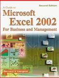 Guide to Microsoft Excel 2002 for Business and Management, Liengme, Bernard V., 075065614X
