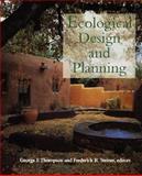 Ecological Design and Planning, Steiner, Frederick R., 0471156140