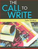 The Call to Write, Trimbur, John, 1439086141