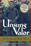 Unsung Valor, A. Cleveland Harrison, 1578066158