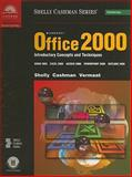 Microsoft Office 2000 : Introductory Concepts and Techniques, Shelly, Gary B. and Cashman, Thomas J., 0789556154