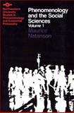 Phenomenology and the Social Sciences, Natanson, Maurice A., 0810106167