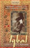 Poems from Iqbal : Renderings in English Verse with Comparative Urdu Text, Kiernan, V. G., 0199066167