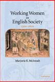 Working Women in English Society, 1300-1620 9780521846165