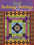 Quilt Sashings and Settings, Jean Ann Wright, 1935726161