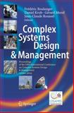 Complex Systems Design and Management : Proceedings of the Fifth International Conference on Complex Systems Design and Management CSD&M 2014, , 3319116169