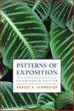 Patterns of Exposition, Schwegler, Robert A., 0321146166