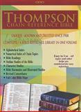 Thompson Chain Reference Bible-NIV, Frank Charles Thompson, 0887076165