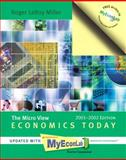 Economics Today : With Economics in Action 2001-2002 Version, Miller, Roger LeRoy, 0201786176