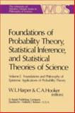 Foundations and Philosophy of Epistemic Applications of Probability Theory, Harper, W. L. and Hooker, C. A., 9027706174
