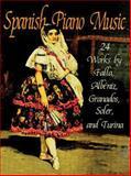 Spanish Piano Music, Manuel de Falla and Frances A. Davis, 0486296172