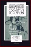 Neurotransmitter Interactions and Cognitive Function, BUTCHER, LEVIN, DECKER, 081763617X