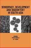 Democracy, Development and Discontent in South Asia 9780761936176