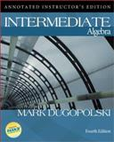 Mp : Intermediate Algebra w/ MathZone, Dugopolski, Mark, 0073016179