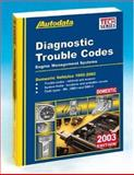2003 Domestic Diagnostic Trouble Code Manual 1999-02, Autodata, 1893026175