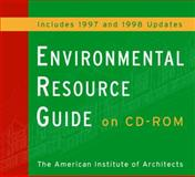 The Environmental Resource Guide, American Institute of Architects Staff, 0471346187