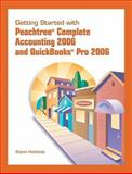 Peachtree Complete Accounting and Quick Books Pro 2006, Heldstab, Elaine, 0131756184