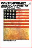 Contemporary American Poetry, Donald Hall, 0140586180