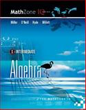 Intermediate algebra for mathzone IQ, Miller, Julie, 0073406198