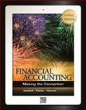 Financial Accounting: Making the Connection with Connect Plus and LearnSmart1Se, Spiceland, J. David and Thomas, Wayne, 0077606191