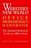 Webster's New World Office Professional's Handbook, Plain English Inc. Staff, 0028606191
