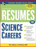 Resumes for Science Careers, McGraw-Hill Staff, 0071476199