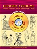 Historic Costume, Tom Tierney, 0486996190